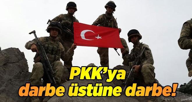 Çukurca kırsalında PKK'ya operasyon : 2 terörist öldürüldü