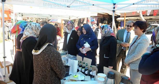 Büyükşehir Belediyesin'den kadınlara kermes