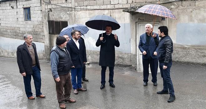 Başkan Erkoç: ''Kilidi çözme çalışıyoruz''