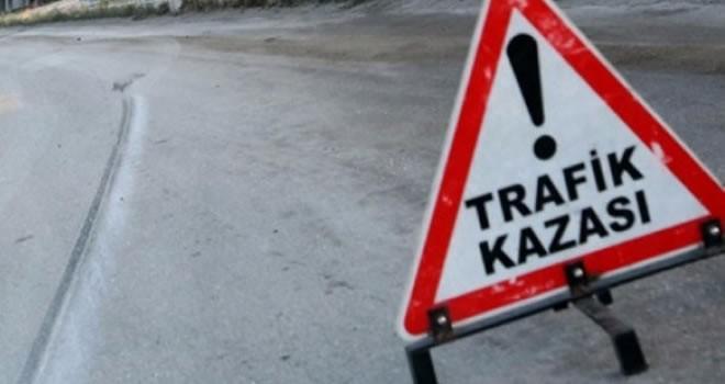 Kahramanmaraş'ta hafif ticari araç devrildi: 2 ölü, 6 yaralı