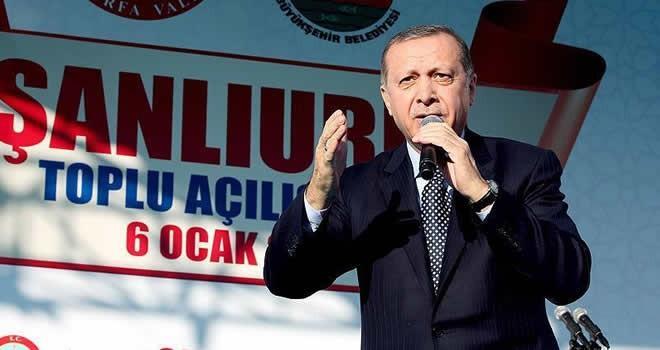 Erdoğan'dan çarpıcı açıklamar: 'Bizim için ok yaydan çıktı'