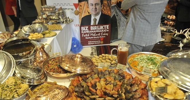Kahramanmaraş'ın yöresel lezzetleri İstanbul'da