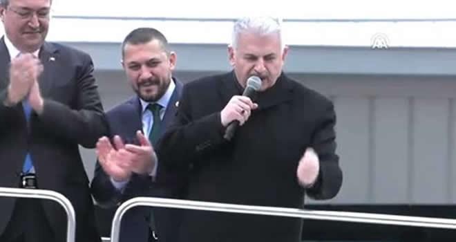 Başbakan Yıldırım Kılıçdaroğlu'na yüklendi