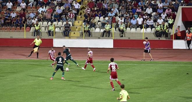 Kahramanmaraşspor-Konya Anadolu Selçukluspor maç sonucu: 1-1