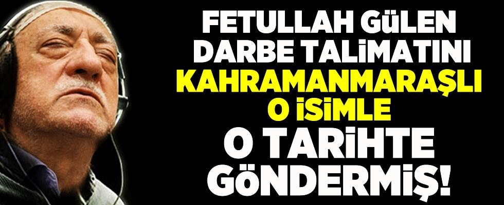 Fethullah Gülen darbe talimatını Adil Öksüz ile o tarihte vermiş!