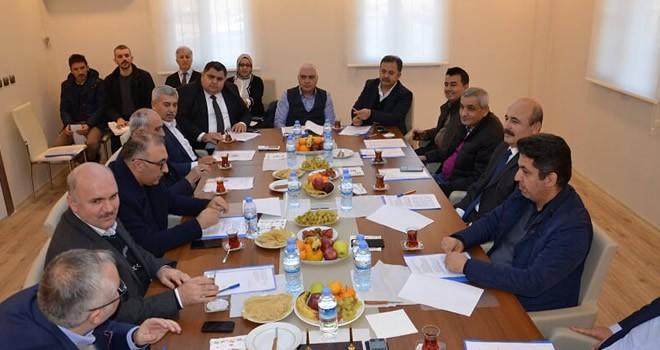 Türkoğlu OSB, Aralık ayı Müteşebbis Hetet toplantısı düzenlendi