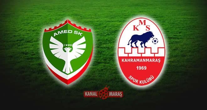 Amed Sportif - Kahramanmaraşspor maçı hangi kanalda saat kaçta?