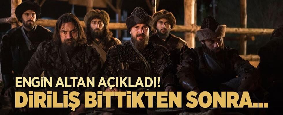Ünlü oyuncu Engin Altan Düzyatan 'Diriliş Ertuğrul' sonrası planını açıkladı