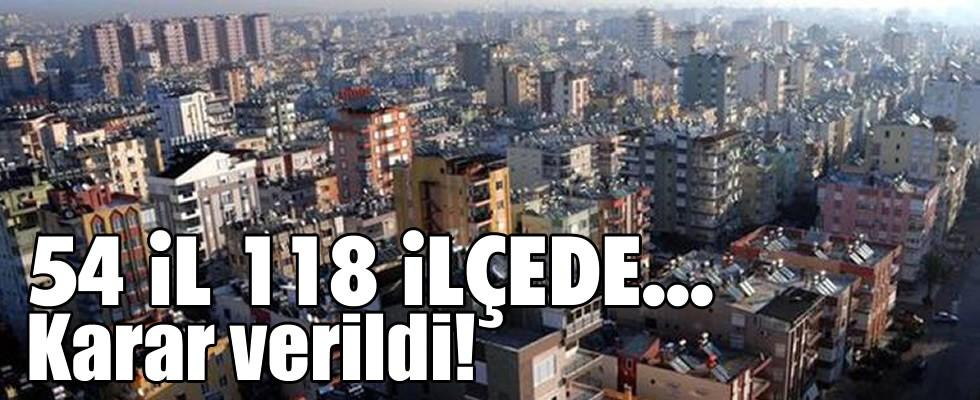 Karar verildi! TOKİ'den 258 bin konutluk kentsel dönüşüm