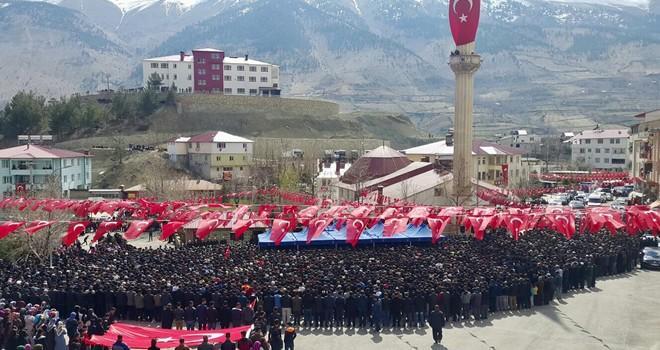 Afrin şehidi Orhan Sürmen Kahramanmaraş'ta son yolculuğuna uğurlandı