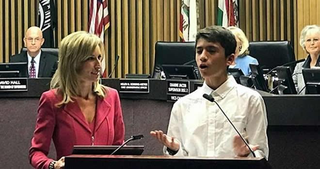 ABD, 13 yaşında Kenan'ı konuşuyor!