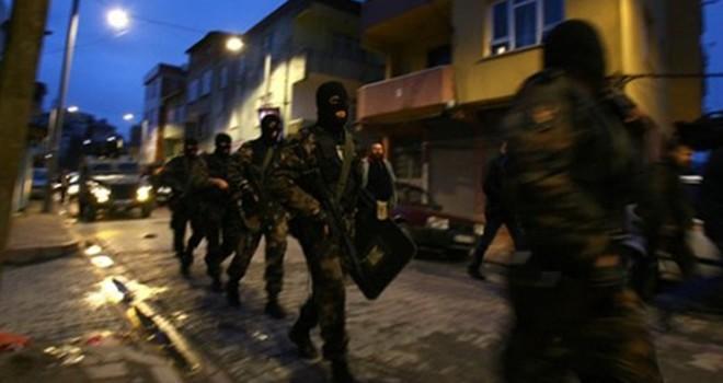 Pazarcık'ta terör örgütü PKK operasyonu: 15 gözaltı