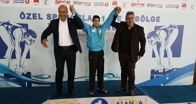 Kahramanmaraşlı özel sporcular Alanya'da dereceye girdiler