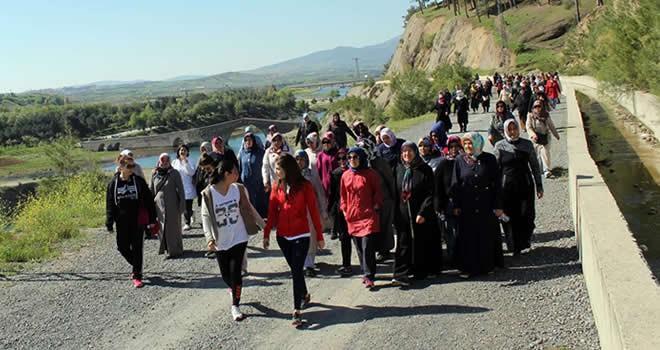 Büyükşehir'den bayanlara yürüyüş
