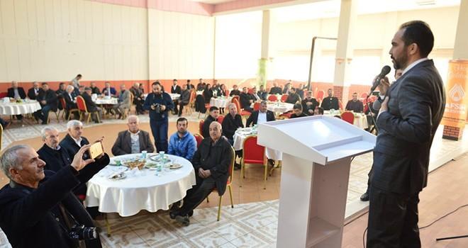 AK Parti İl Başkanı Özdemir: Bizim dinlenmeye, küslük çekmeye vaktimiz yok