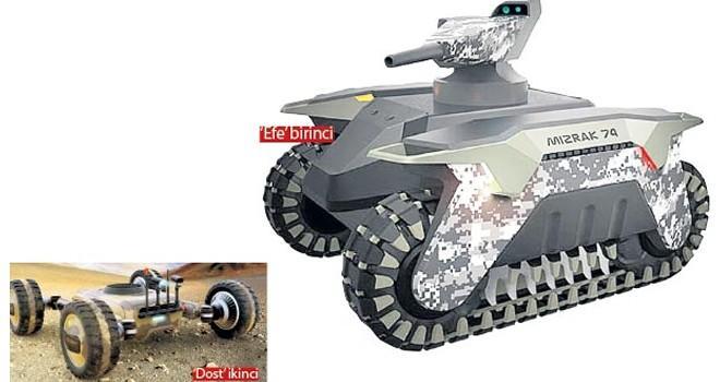 Erdoğan açıklamıştı.. Türkiye'den insansız tank hamlesi!