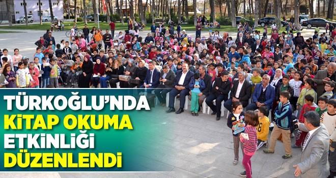 Başkan Okumuş, Türkoğlu'nda kitap okuma etkinliğine katıldı