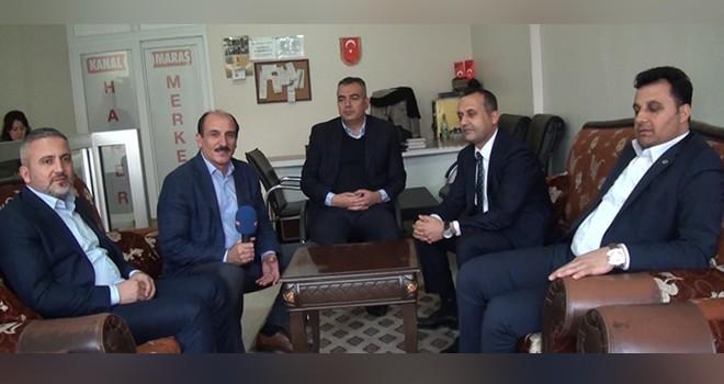 Kanal Maraş'a ''10 Ocak Gazeteciler Günü' ziyareti