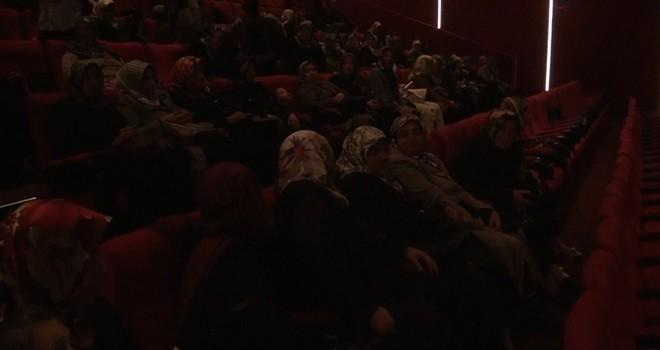 Türkoğlulu bayanlara sinema keyfi