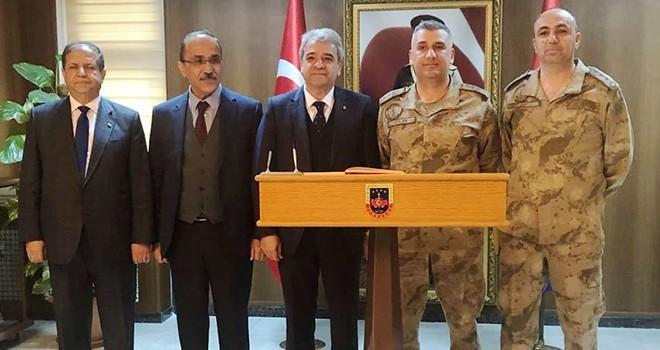 Başkan Zabun'dan Afrin'deki Mehmetçik'e destek