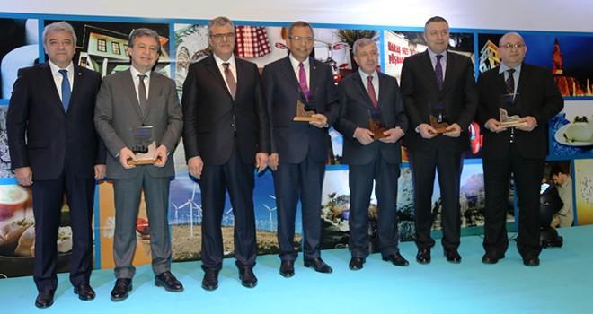İşte ekonomi dalında ödül alan Kahramanmaraş'taki şirketlerimiz