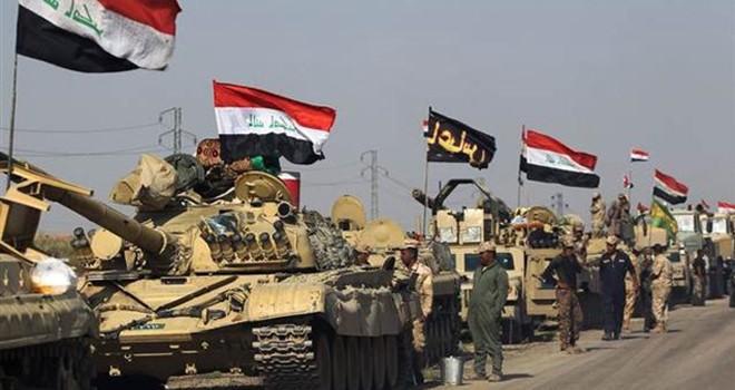 Irak ordusu Kerkük'e operasyon başlattı !
