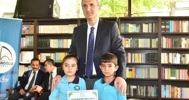 Başkan Okay'dan atık pil toplayan okullara ödül