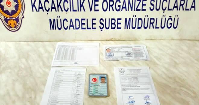 Kahramanmaraş'ta ehliyet sınavında joker operasyonu