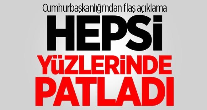 Bülent Gedikli'den flaş açıklama: Hepsi yüzlerinde patladı!