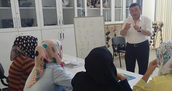 Büyükşehir'den işaret dili ile Kur'an eğitim