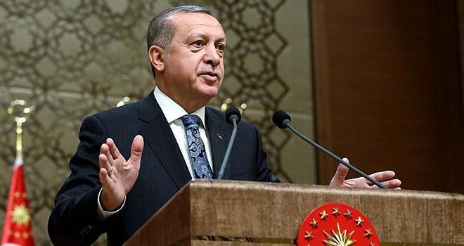 Cumhurbaşkanı Erdoğan: ''Ellerinden gelse...''