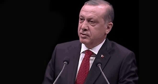 Erdoğan İstanbul'da konuşma yaptı