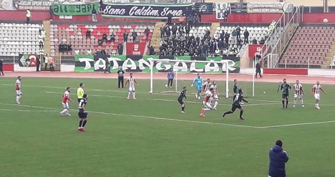 Kahramanmaraşspor: 2 - Sakaryaspor: 1 (Maç Sonucu)