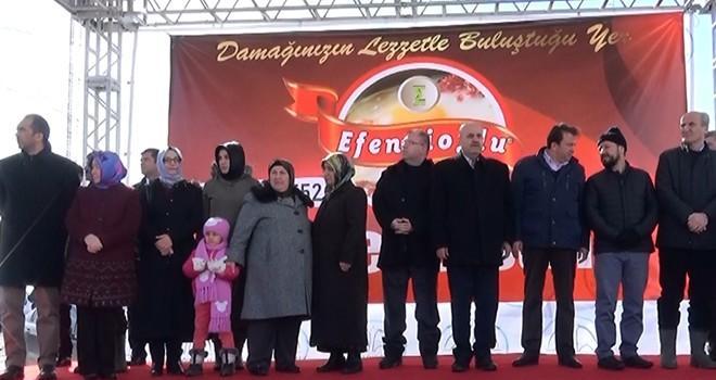 Dulkadiroğlu Belediyesi Yedikuyular'da 3'üncü kar etkinliği düzenledi