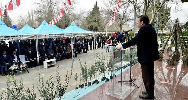 Büyükşehir'den Zeytin Dalı Harekatına zeytin fidanıyla destek