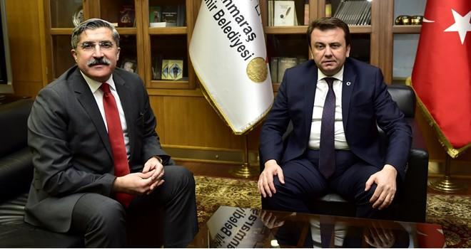 Bakan Yardımcısı Yayman'dan Başkan Erkoç'a ziyaret