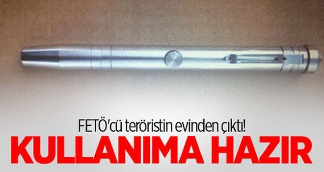FETÖ'cü teröristin evinden suikast silahı çıktı! Kullanıma hazır