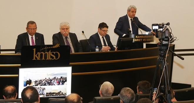 KMTSO 55. Meclis Toplantısı gerçekleştirildi