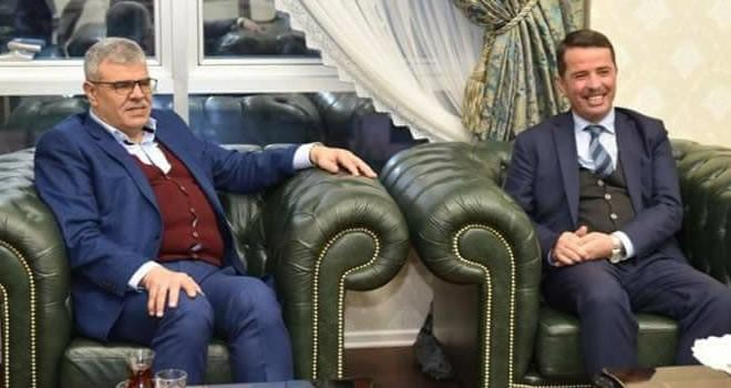 Kaynak'tan, Başkan Okumuş'a ziyaret