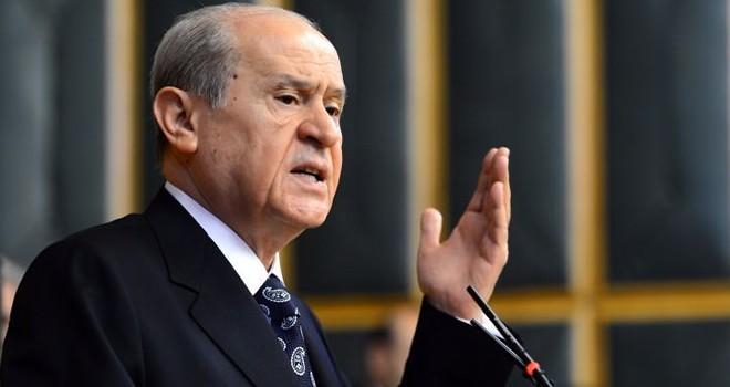 MHP lideri Devlet Bahçeli'den Twitter'da flaş açıklamalar!