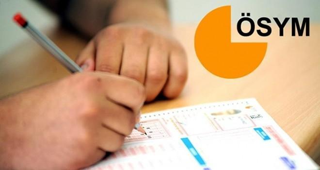 ÖSYM'den adaylara 'sınav saati' uyarısı