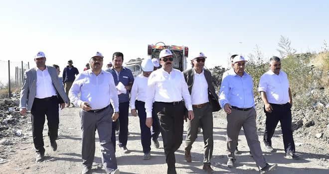 Başkan Erkoç: '5 ilçemizde de çöp problemini çözüyoruz'