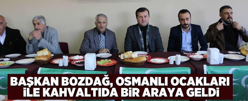 Başkan Bozdağ, Osmanlı Ocakları ile kahvaltıda buluştu