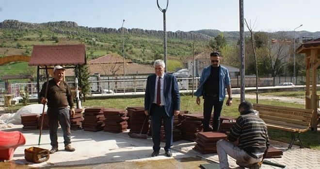Kahramanmaraş'tan Diyarbakır'a '7 yıldızlı' Sütçü İmam Parkı