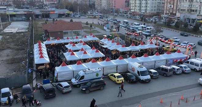 Afyonkarahisar'da Pazarcık rüzgarı esti