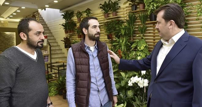 Başkan Erkoç'tan Yeni Hükümet Caddesi esnaflarına ziyaret