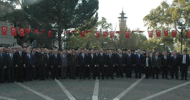 Kahramanmaraş Atatürk'ü andı