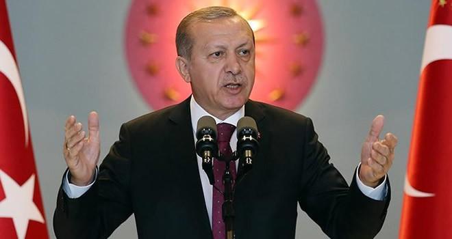 Cumhurbaşkanı Recep Tayyip Erdoğan, Külliye'de kaymakamlara hitap etti