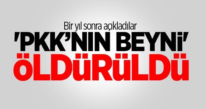 Bir yıl sonra açıklandı! PKK'nın beyni 'Serdem' ölürüldü