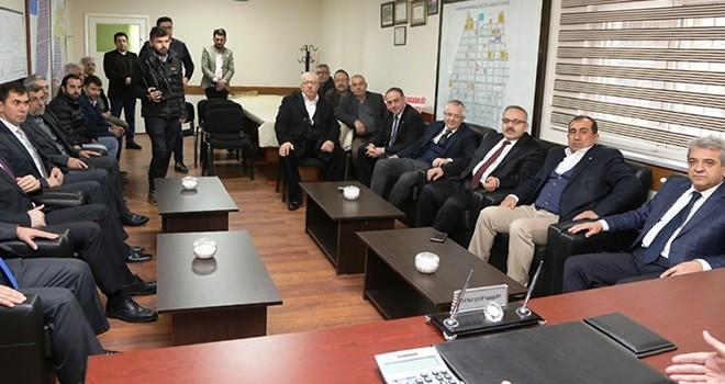 KMTSO Yönetimi, Küçük Sanayi Sitesi Kooperatifi ile bir araya geldi